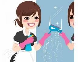 Título do anúncio: Faxinas e serviços domésticos