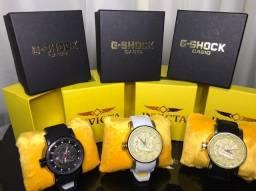 Relógios invicta s1 e g shok