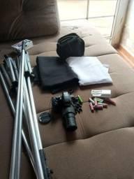 Câmera profissional fiujifilm