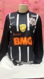 Título do anúncio: Camisas Futebol Masculina manga comprida tamanho P.