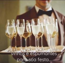 Título do anúncio: Vinhos e espumantes para sua festa.