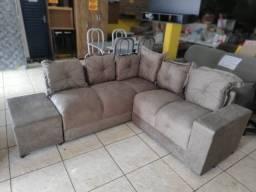 Título do anúncio: sofa canto bege novo