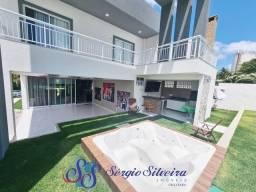 Título do anúncio: Casa no Alphaville Fortaleza com 4 suítes com energia solar deck com churrasqueira