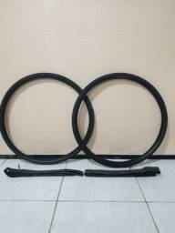Par de pneus kenda com Câmara de ar 27.5