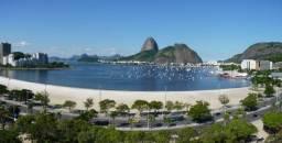 Apartamento conjugado Praia de Botafogo temporada mobiliado tv/wifi