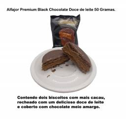 Alfajor Premium Black 50 Gramas Caixa 12 Unidades