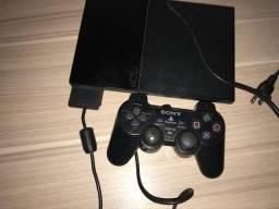 Playstation 2 (PS2) COM LEITOR DE DVD QUEBRADO, RODANDO PELO PEN DRIVE.
