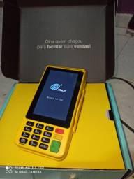 Moderninha pro 2 maquininha de cartão que imprime comprovante