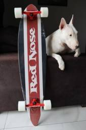 Longboard Red Noose + Suporte Parede