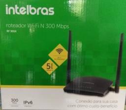Roteador e repetidor de sinal Wi-Fi Intelbras