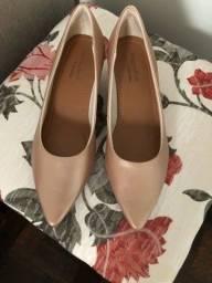 Sapato Usaflex Feminino Nude
