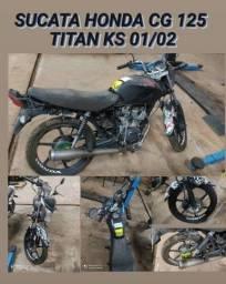 *SUCATA* Honda Titan Ks 01/02 - Somente Peças