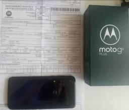Moto G8 Plus Com nota fiscal