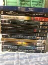 Lote com 12 Dvds originais de ficção/aventura