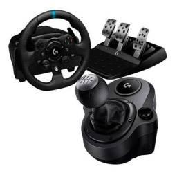 Volante Logitech G923 TrueForce Racing Wheel + Cambio (parcelo)