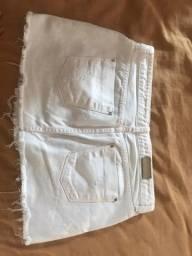 Saia jeans Zara
