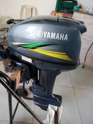 Motor de popa 15hp yamaha 2019 semi novo por motor de menor valor.