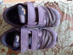 Título do anúncio: 2 tênis puma e 1 sandália minimelissa