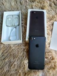 iPhone 7 128gb preto fosco usado