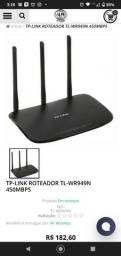 Título do anúncio: Roteador 3 antenas 450 Mbps