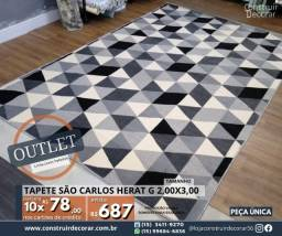 Título do anúncio: Tapete São Carlos Herat G 2,00x3,00 Novo