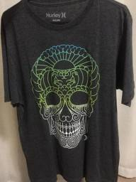 Camisa Hurley Caveira tribal Tamanho P