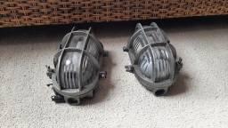 Luminárias de jardim de ferro