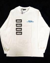 Camiseta High Longsleeve Screwed White
