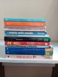 Título do anúncio: Livros de Matemática, Física e Biologia