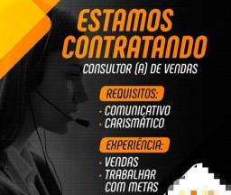 Título do anúncio: Vaga Consultor de vendas