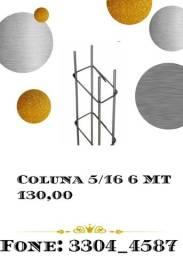 Título do anúncio: Coluna 5/16 6mts 130,00 armazem chagas ferreira