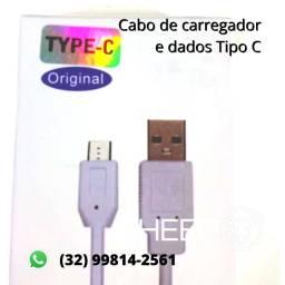 Cabo carregador smartphone e dados tipo C Original