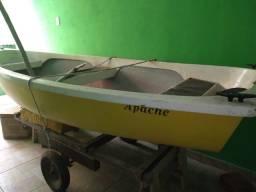 Barco de fibra (para pesca) - ótima oportunidade