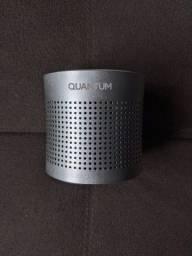 Título do anúncio: Speaker Bluetooth Quantum Boom Quicksilver Prateada Caixa de Som Positivo