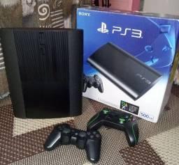 Playstation 3 Super Slim 500GB (LEIA A DESCRIÇÃO)