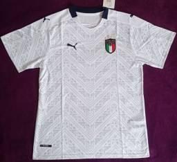 Camisa da Itália Branca (disponível: GG)