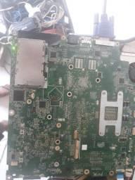 Placa mãe notebook LG R480 no estado