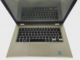 Título do anúncio: Ultrafino Dell Gold i7 sexta geraçao 8gb touch vira tablet fullHD c/garantia e ate 12x