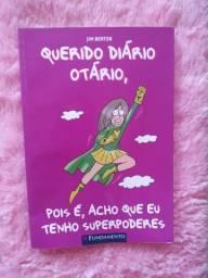 Livro Querido Diário Otário usado