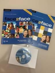 Material Completo: Face 2 Face Pré Intermediário + DVD-ROM