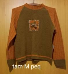 Diversos blusões em tricot