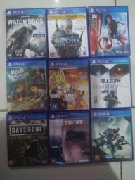 Jogos de PS4 50$ cada (Apucarana)