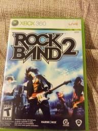 Jogo Xbox 360 rock Band 2
