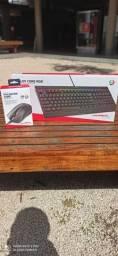 Kit gamer , mouse e teclado hyperX