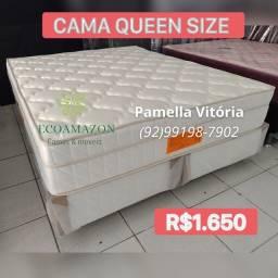 Título do anúncio: Cama Queen Size Molas Nanolastic