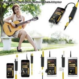 Adaptador Conversor De Guitarra Android  Interface