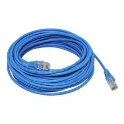 Cabo De Rede 30 Metros Ethernet Cat5 Internet Adsl Rj45