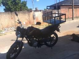 Suporte Moto YBR Com Cesta