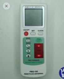 Título do anúncio: controle de ar condicionado universal, faço entrega