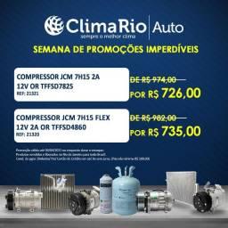 Compressores de ar condicionado Universais para usos em caminhões e máquinas